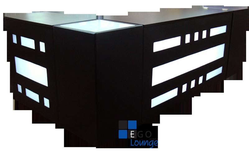 Ego lounge design for Barras en madera para bar
