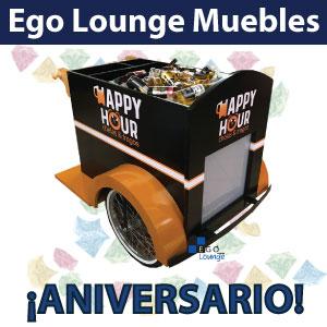 aniversario muebles ego lounge diseño vanguardia restaurantes bares