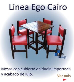 ego cairo muebles de duela de importacion brillante mesas sillas restaurante cafeteria