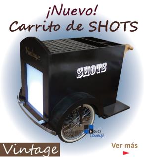 carritos de shots para eventos tequileros cerveceros shots muppets
