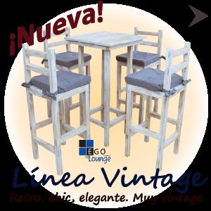 linea de periqueras sillas y mesas vintage terrazas eventos hoteles restaurantes cafeterias