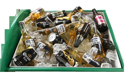 cervecero carrito especial bares antros restaurantes cerveza tequila shots