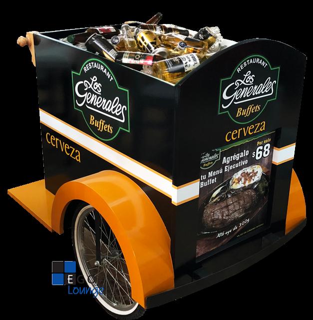 carrito de shots licoreras tequileros wisky vintage dulces shots cupcakes