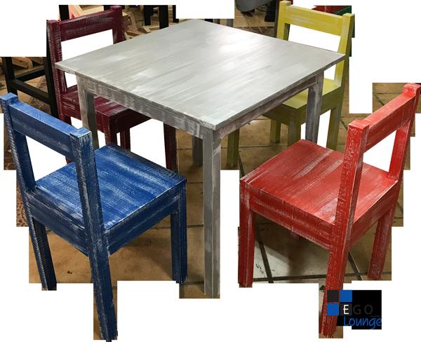 mesa crown terminado natural madera importacion chile