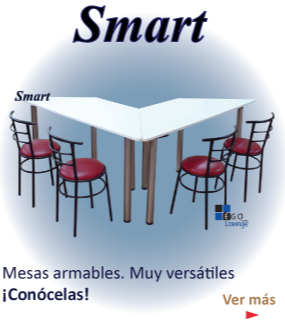 mesas smart diferentes modelos plegables armables y desarmables